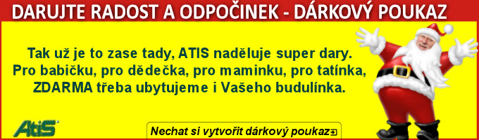 Dárkové poukazy ATIS